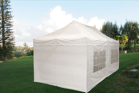 E Model 10'x20' White - Pop Up Tent