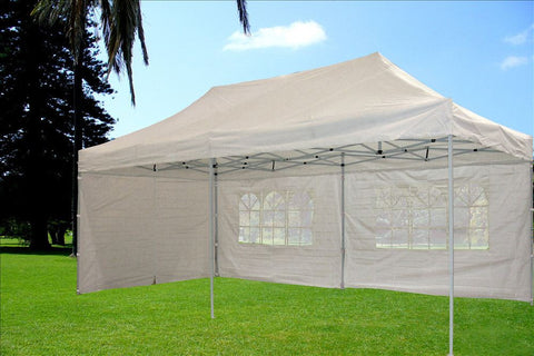 F Model 10'x20' White - Pop Up Tent Pro