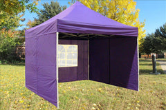 F Model 10'x10' Purple - Pop Up Tent Pro