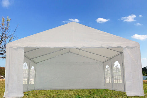 PE Party Tent 20'x16' - White