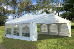 Budget PVC Party Tent 20u0027x20u0027 - White & PVC Party Tents u2013 Deltacanopy