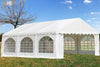 PVC Party Tent 20'x16' - White - Heavy Duty Wedding Canopy Shelter