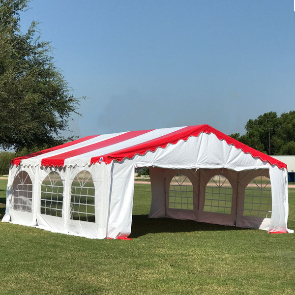 20 X20 Budget Pvc Wedding Party Tent Canopy Shelter