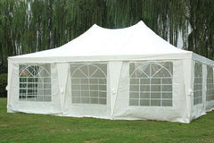 Poly 23'x16.5' White - Party Tent