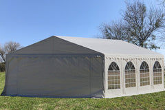 PE Party Tent 26'x16' - White