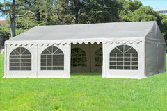PVC Party Tent 26'x16' - White - Heavy Duty!