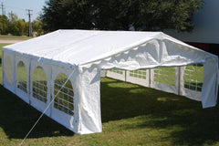 Budget PE Party Tent 26'x20' - White