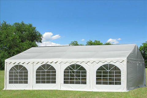 PVC Party Tent 26'x20' - White - Heavy Duty!