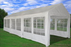 PE Party Tent 30'x10' - White