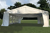 Wedding Party Tent Canopy Shelter - 32'x16' Budget PVC Tent White