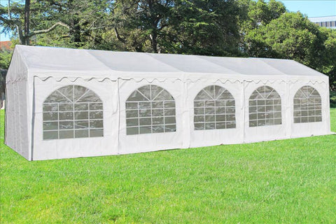 PVC Party Tent 32'x16' - White - Heavy Duty!