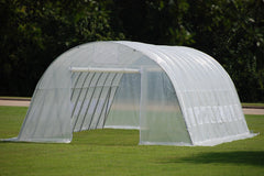 Greenhouse 33'x13' - Walk-in Nursery - Clear
