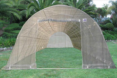 Greenhouse 33'x13' w Shade Cover - Walk-in Nursery