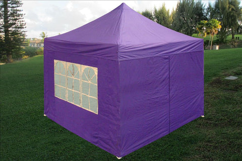 E Model 10'x10' Purple - Pop Up Tent