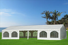 PVC Party Tent 40'x20' - White - Heavy Duty!