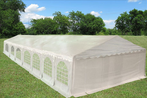 PE Party Tent 46'x20' - White