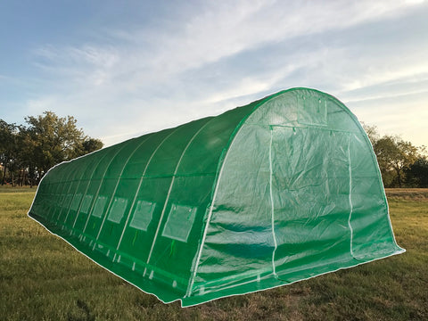 Greenhouse 46'x13' - Walk-in Nursery with Round Arch