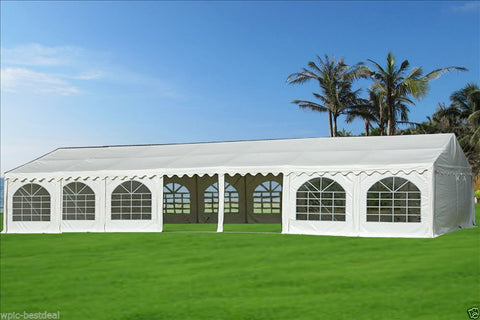 PVC Party Tent 46'x26' - White - Heavy Duty!