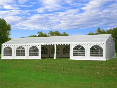 PVC Party Tent 49'x23' - White - Heavy Duty!