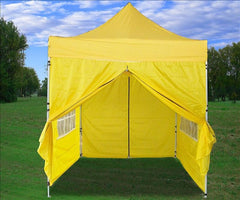 8'x8' Yellow - Pop Up Tent Basic