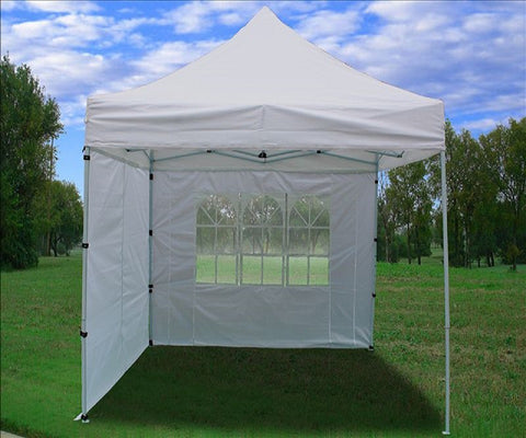 8'x8' White - Pop Up Tent Basic