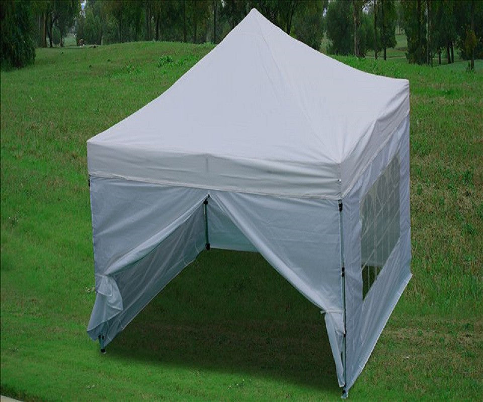 8 X8 White Pop Up Tent Basic Deltacanopy