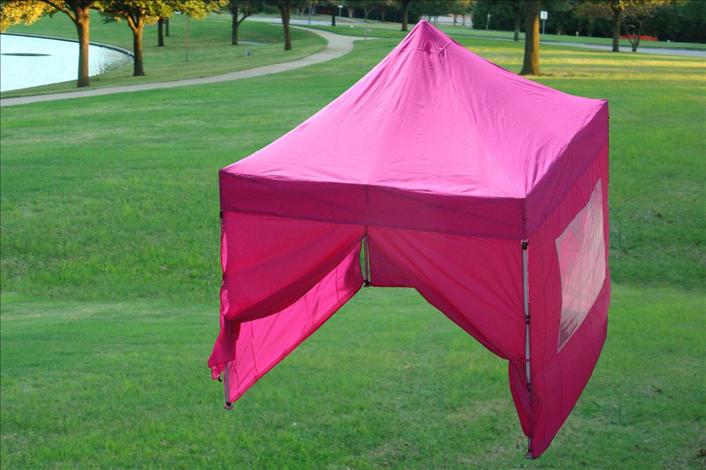 8u0027x8u0027 Pink - Pop Up Tent Basic & Pink 8u0027x8u0027 Pop Up Tent - Basic