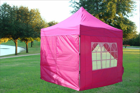 8'x8' Pink - Pop Up Tent Basic