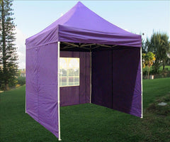 8'x8' Purple - Pop Up Tent Basic