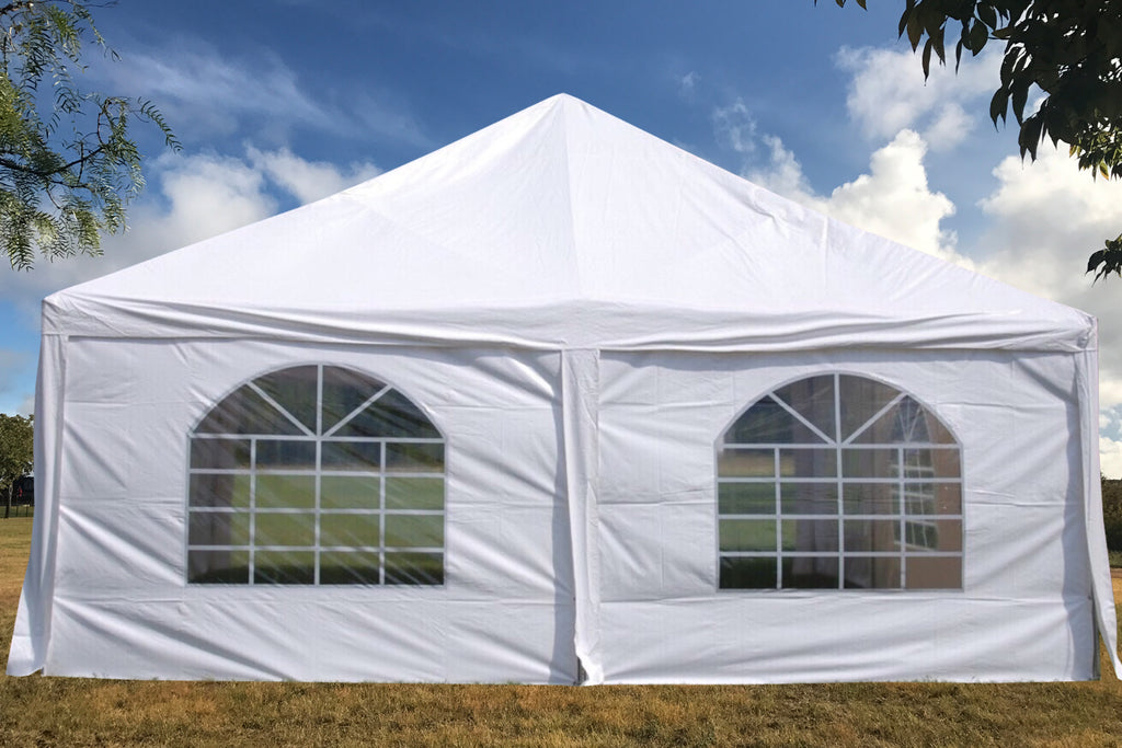 Frame PVC Tent Party Wedding Canopy Shelter White - Storage Bags Included - 30u0027x20 & Frame PVC Tent Party Wedding Canopy Shelter White - Storage Bags ...