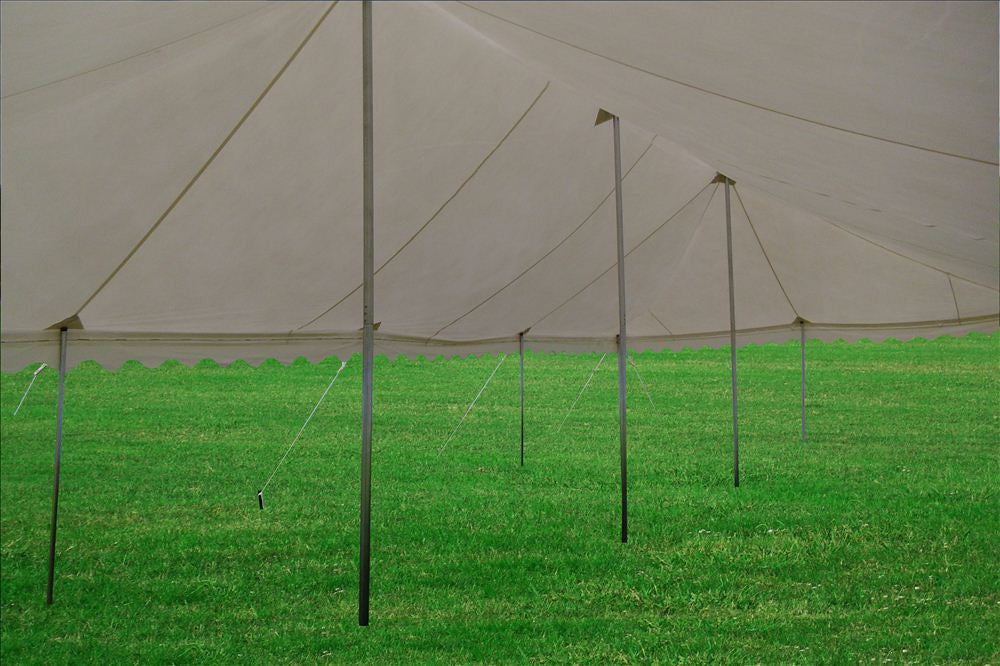 Pvc Pole Tent 40 X20 White Wedding Canopy Party Tent
