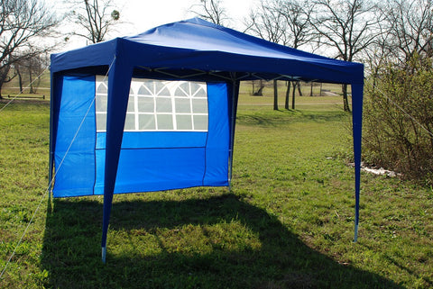CS 10'x10' Blue - Pop Up Tent