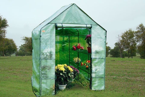 "Greenhouse GH007 - 56""Wx56""Dx77""H - Mini Portable Nursery"