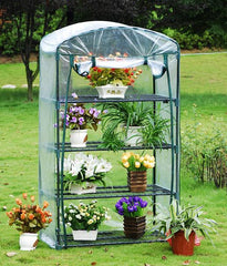 "Greenhouse GH006 - 35""Wx19""Dx62""H - Mini Portable Nursery"