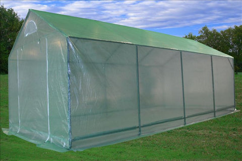 Greenhouse 20'x10' - Triangle Top Walk-in Nursery