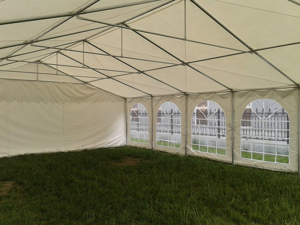 Pvc Party Tent 40 X20 White Heavy Duty Deltacanopy