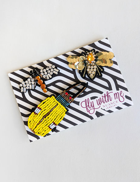 Bug Pin Sets | Limited Edition