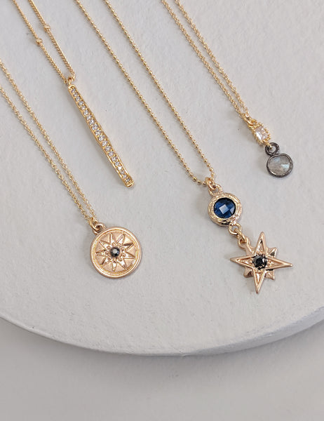 Nova Charm Necklace - Gold Filled