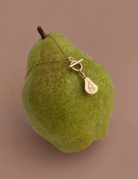 Pear Toggle Necklace