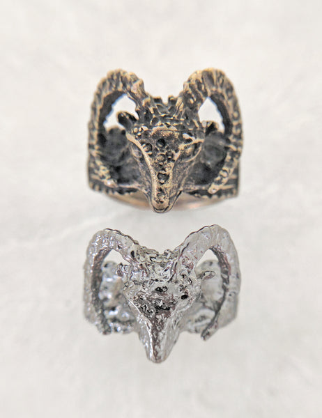 Horned Ram Ring | MORE COLORS
