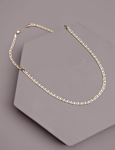 Tab Chain Necklace