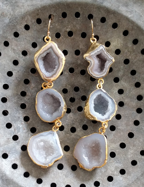 Tiered Geode Drops