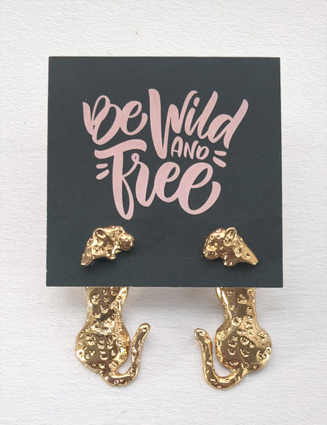 Wild and Free - Leopard Front/Back