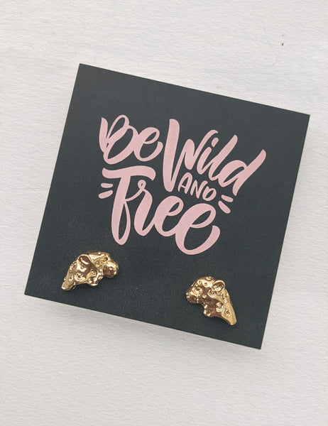 Wild and Free - Leopard Heads