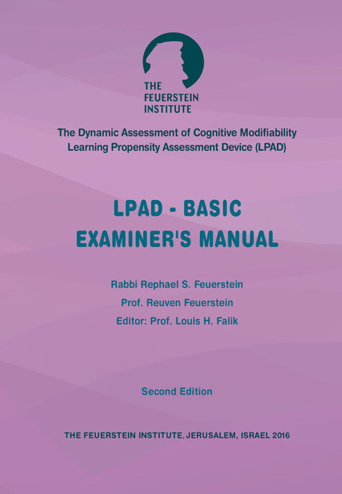 LPAD-Basic Examiners's Manual