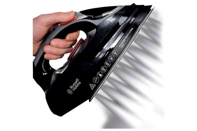 Russell Hobbs 3100W Power Steam Ultra Iron, Black | 20630
