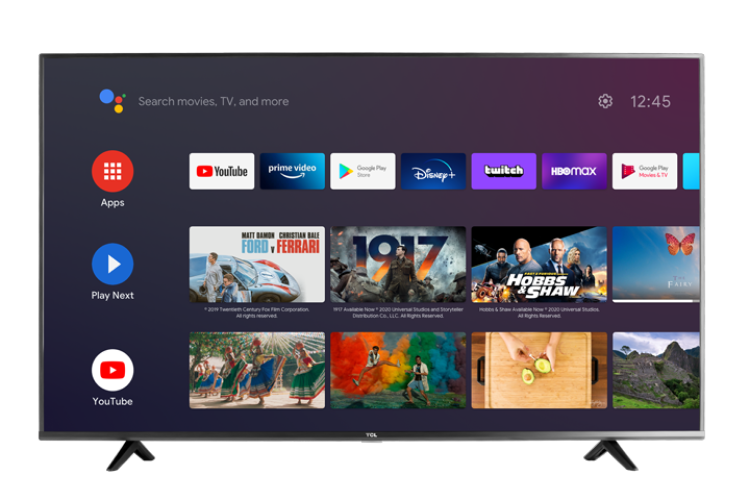 "TCL - 65""inch P615 4k UHD Android TV"