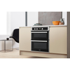 WHIRLPOOL 59/37 LITRE DOUBLE UNDER OVEN | AKL307IX