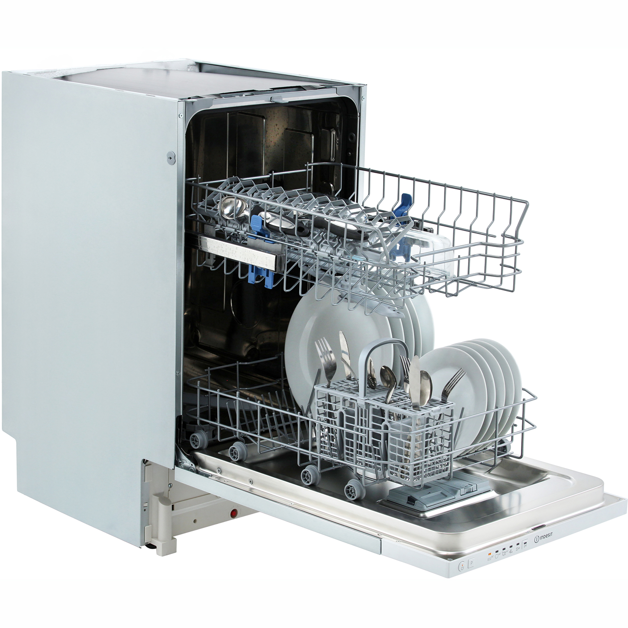 INDESIT SLIMLINE 10 PLACE INTEGRATED DISHWASHER | DSIE2B10UK