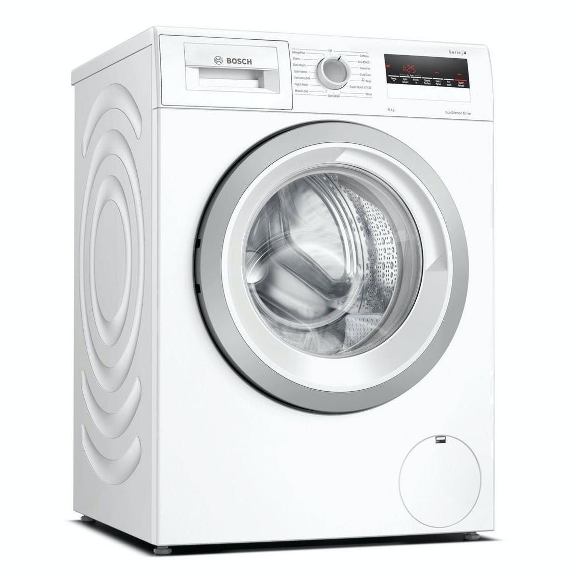 Bosch Serie 4 8KG 1400RPM Washing Machine, White | WAN28281GB